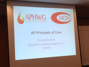 Asia Pacific Principles of Care - Overview by Dr Scott Dunkley