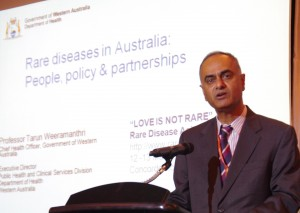 Keynote - Rare Diseases in Australia: People, Policy and Partnerships - Prof Tarun Weeramanthri (Australia)
