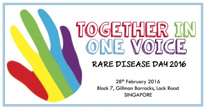 Together In One Voice: Rare Disease Day 2016