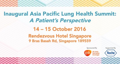 Inaugural Asia Pacific Lung Health Summit: A Patient′s Perspective